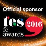 Official sponsor TES FE Awards 2016