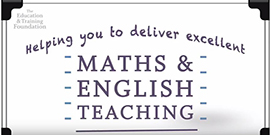 Find out how we can support you to teach maths and English