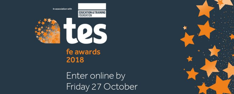 TES FE Awards 2018 web
