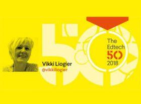 Vikki Liogier the EdTech 50 2018