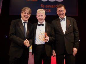 Alan Davies, Lowell Williams and Mark White