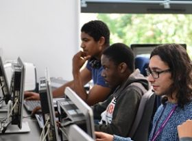 learners using computers
