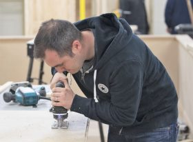 Using tools in workshop