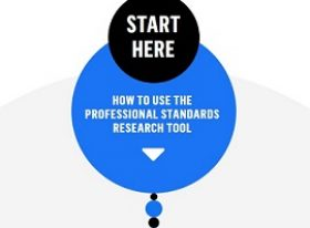 Professional Standards Research Tool icon