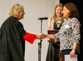 ATS holder receives Chartered Teacher status certificate