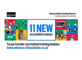 Enhance accessibility modules graphic