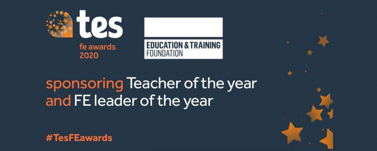 TES FE Awards ETF sponsored categories graphic