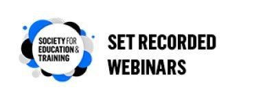 SET Recorded Webinars