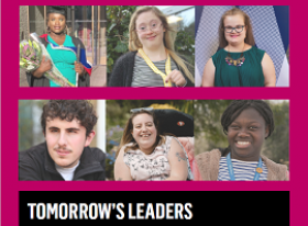 Tomorrow's Leaders - A world Beyond Disabilities front cover