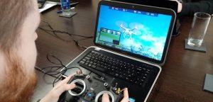 Drone flying workshop