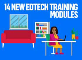 EdTech modules promotional graphic