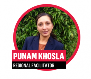 Punam Khosla, Regional Facilitator