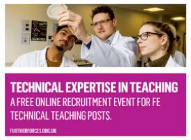 Technical Expertise in Teaching banner