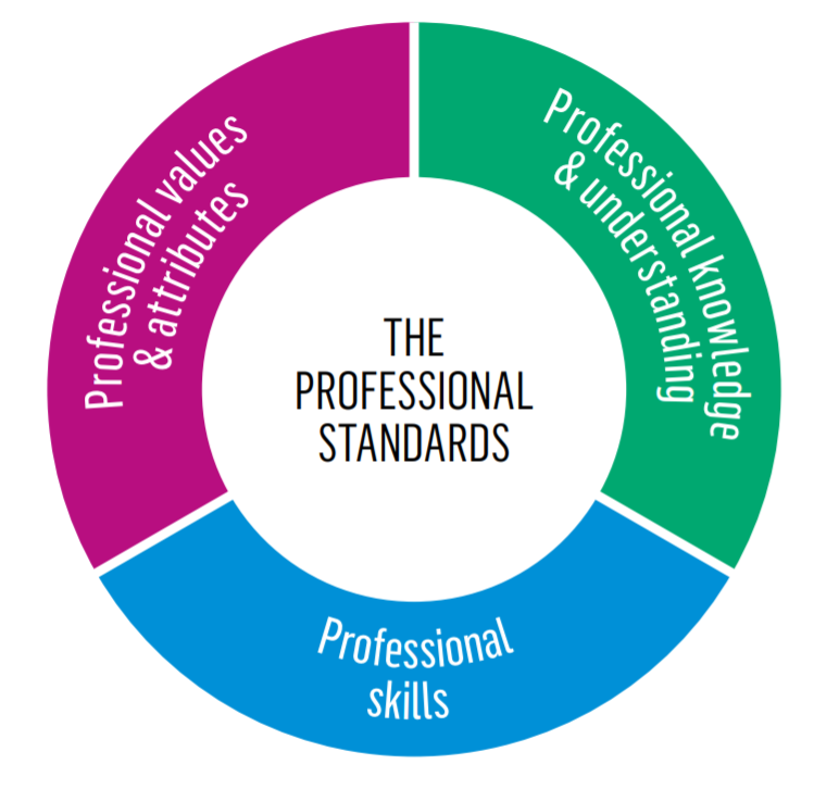 Professional Standards graphic