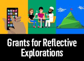 Reflective Explorations thumbnail graphic