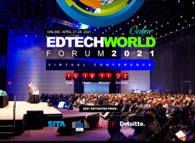 EdTech World Forum banner