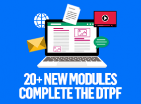 Enhance modules promotional graphic