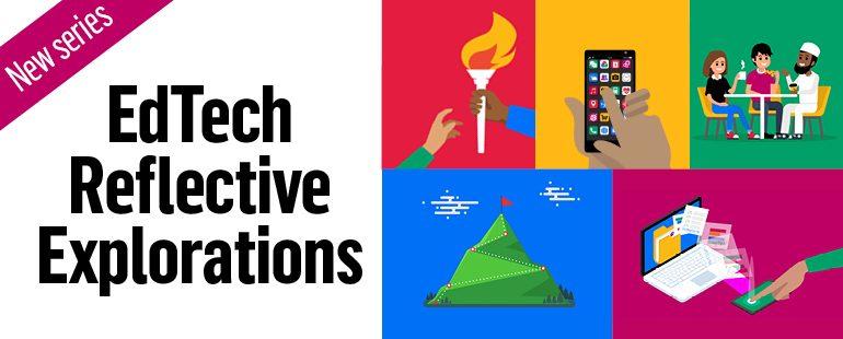 EdTech Reflective Explorations logo graphic