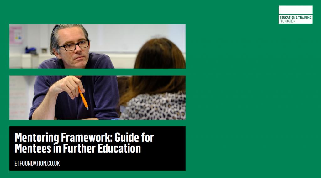 ETF Mentoring Framework - Guide for Mentees in Further Education