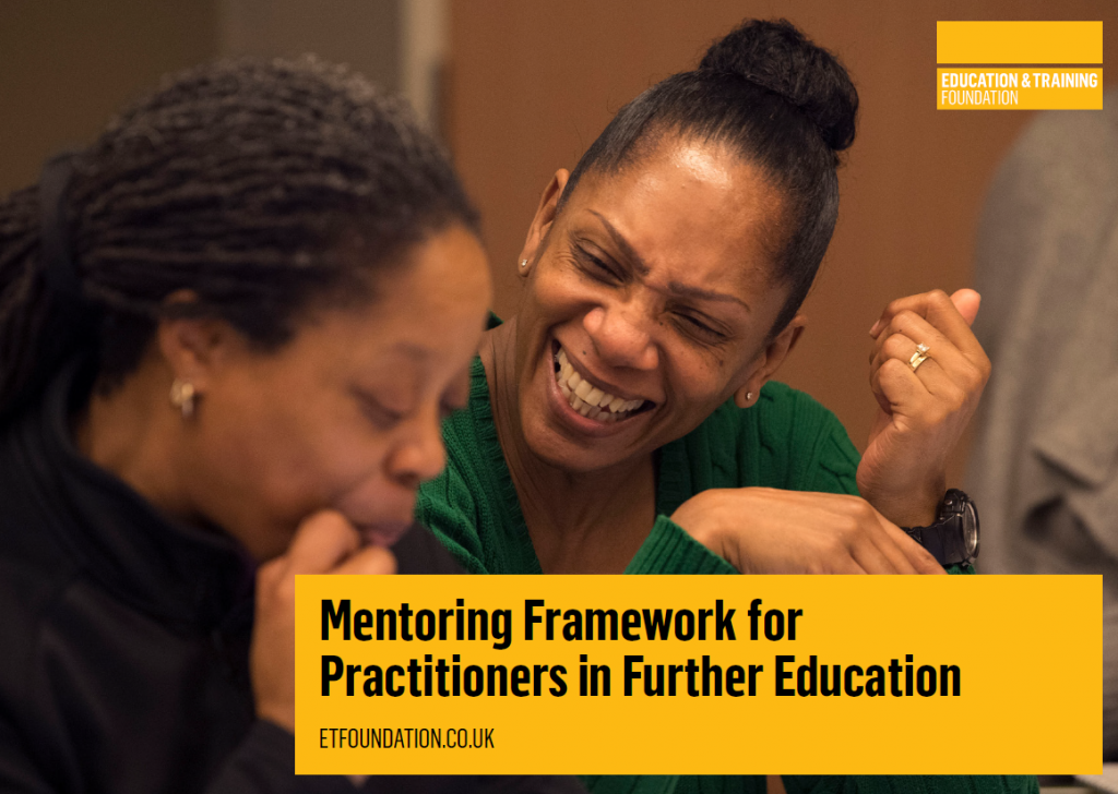 ETF Mentoring Framework for Practitioners in Further Education