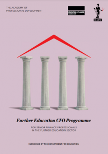 FE CFO programme brochure cover