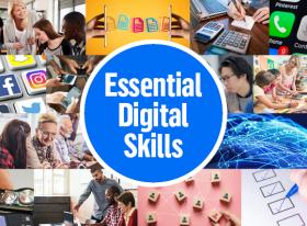 Essential Digital Skills promotional graphic thumbnail