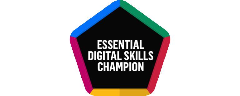 Essential Digital Skills Champions logo