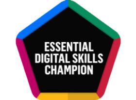 Essential Digital Skills Champion logo